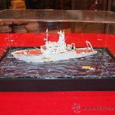 Maquetas: DIORAMA DEL BUQUE OCEANOGRÁFICO LE SUROIT ESCALA 1/200. Lote 220433097