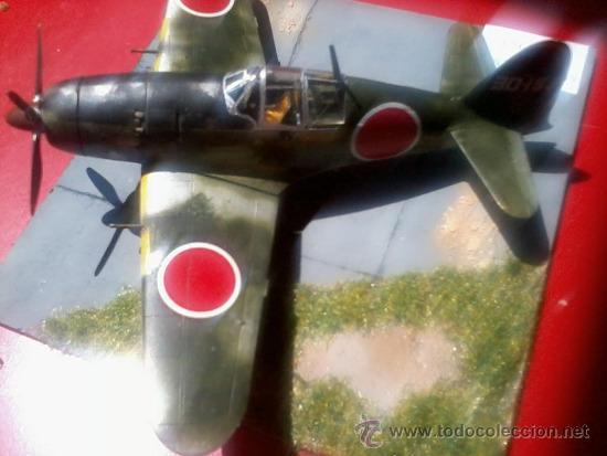 Maquetas: MITSUBISHI J2M-3 RAIDEN.DIORAMA ESCALA 1/72 - Foto 2 - 38529035