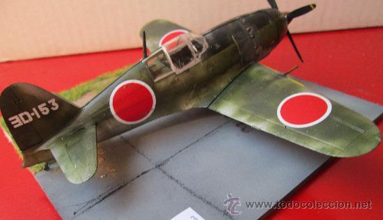 Maquetas: MITSUBISHI J2M-3 RAIDEN.DIORAMA ESCALA 1/72 - Foto 5 - 38529035
