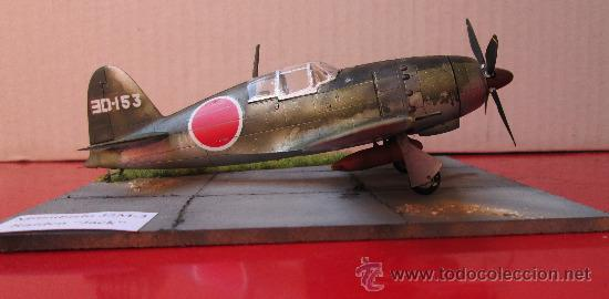 Maquetas: MITSUBISHI J2M-3 RAIDEN.DIORAMA ESCALA 1/72 - Foto 6 - 38529035