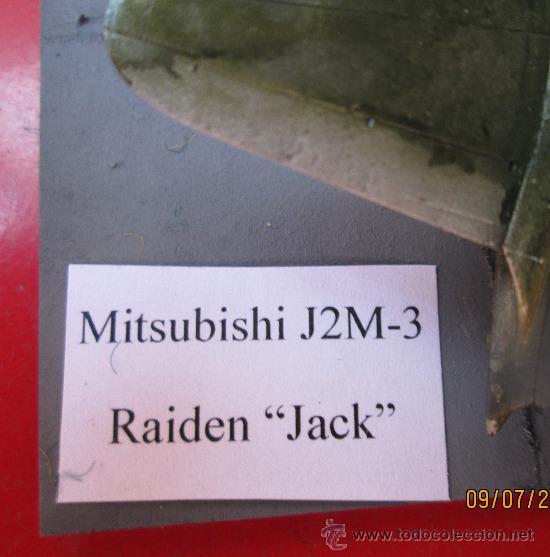 Maquetas: MITSUBISHI J2M-3 RAIDEN.DIORAMA ESCALA 1/72 - Foto 7 - 38529035