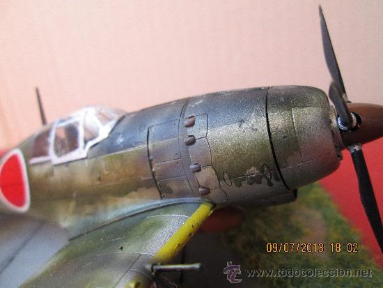 Maquetas: MITSUBISHI J2M-3 RAIDEN.DIORAMA ESCALA 1/72 - Foto 11 - 38529035