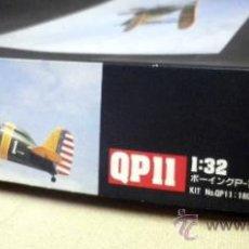 Maquetas: BOEING P-12E BIPLANE, 1991, HASEGAWA HOBBY KITS, ESCALA 1:32, 51811, KIT PARA ARMAR MODELO DE AVION. Lote 49121221