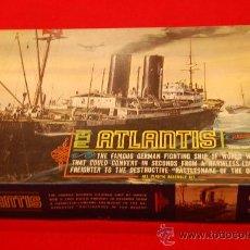 Maquetas: MAQUETA THE ATLANTIS DE AURORA, DE 1963. COMPLETA DE ORIGEN, SIN MONTAR.. Lote 38532727