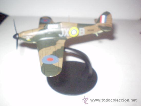 HAWKER HURRICANE. METÁLICO ALTAYA. ESCALA 1/72 (Juguetes - Modelismo y Radio Control - Maquetas - Aviones y Helicópteros)