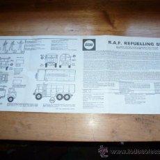 Maquetas: INSTRUCCIONES DE R.A.F REFUELLING SET AIRFIX. Lote 38826999