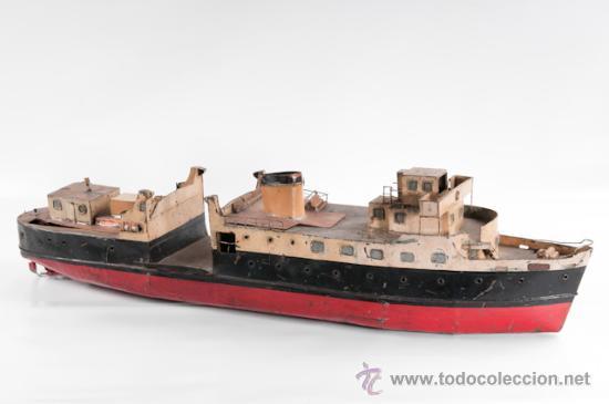 BARCO DE METAL (Juguetes - Modelismo y Radiocontrol - Maquetas - Barcos)
