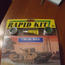 Maquetas: MAQUETA HELLER, CHURCHILL 1/72. RAPID KIT. Lote 38980366