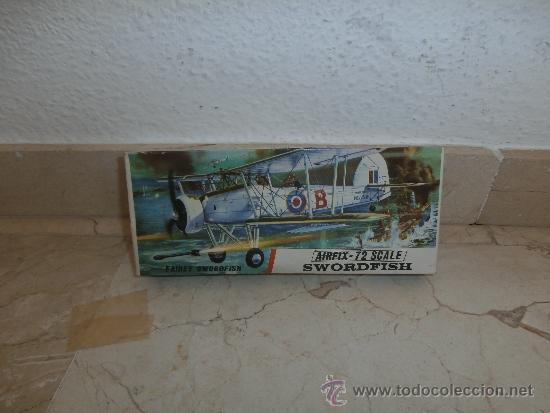 MAQUETA - MAQUETA AIRFIX - 72 SCALE SWORDFISH- FAIREY SWORDFISH MADE IN ENGLAND, 111-1 (Juguetes - Modelismo y Radio Control - Maquetas - Aviones y Helicópteros)