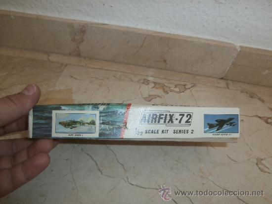 Maquetas: MAQUETA - MAQUETA AIRFIX - 72 SCALE SWORDFISH- FAIREY SWORDFISH MADE IN ENGLAND, 111-1 - Foto 7 - 39278021