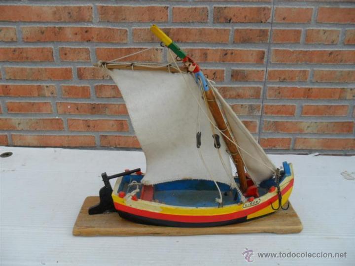 MAQUETA DE BARCO VELERO MADERA (Juguetes - Modelismo y Radiocontrol - Maquetas - Barcos)