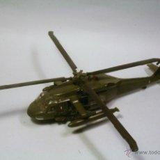 Maquetas: HASEGAWA HELICOPTERO SIKORSKY UH60 BLACKHAWK. ESCALA 1:72 MAQUETA PLÁSTICO MONTADA Y PINTADA.. Lote 39455599