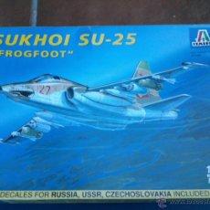 Maquetas: MAQUETA ITALERI 1/72 SUJOI (SUKHOI) SU-25 --FROGFOOT. Lote 39954373