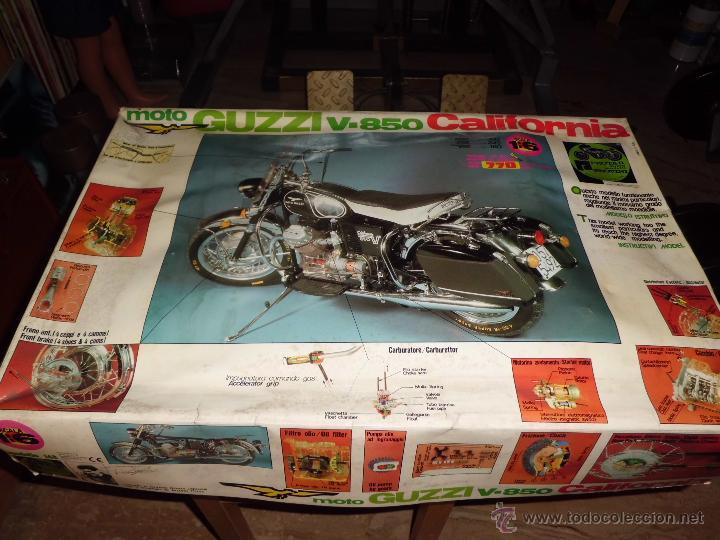 Maquetas: fantastica moto guzzi v-850 california protar provini año 1972 esc. 1/6 leer descrip. ver fotos - Foto 32 - 153475704