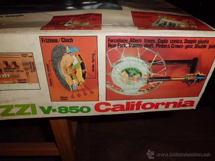 Maquetas: fantastica moto guzzi v-850 california protar provini año 1972 esc. 1/6 leer descrip. ver fotos - Foto 30 - 153475704