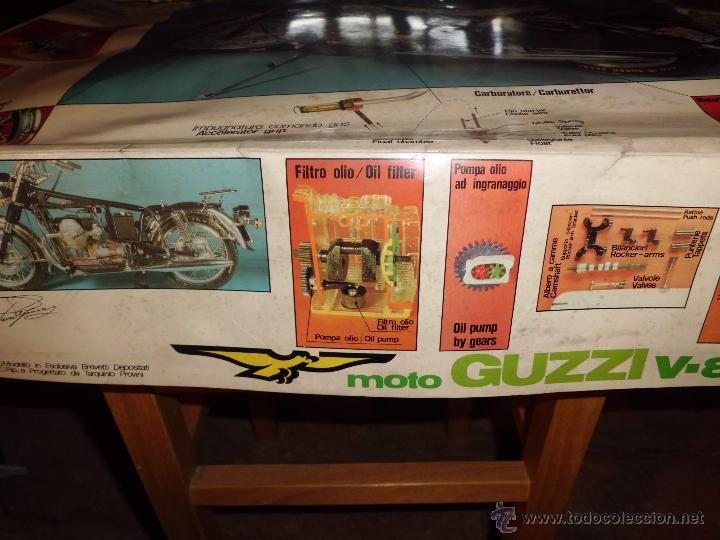 Maquetas: fantastica moto guzzi v-850 california protar provini año 1972 esc. 1/6 leer descrip. ver fotos - Foto 29 - 153475704