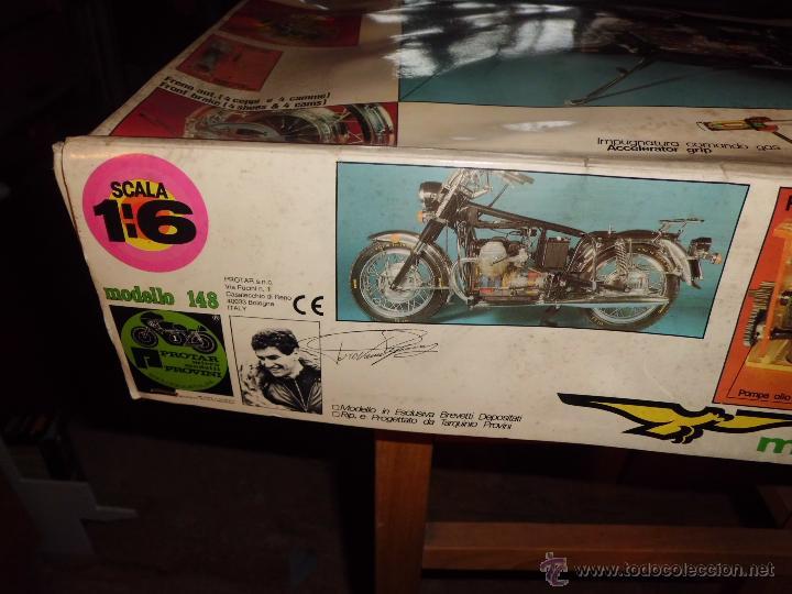 Maquetas: fantastica moto guzzi v-850 california protar provini año 1972 esc. 1/6 leer descrip. ver fotos - Foto 28 - 153475704
