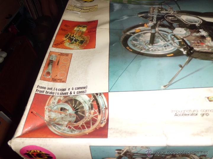 Maquetas: fantastica moto guzzi v-850 california protar provini año 1972 esc. 1/6 leer descrip. ver fotos - Foto 27 - 153475704