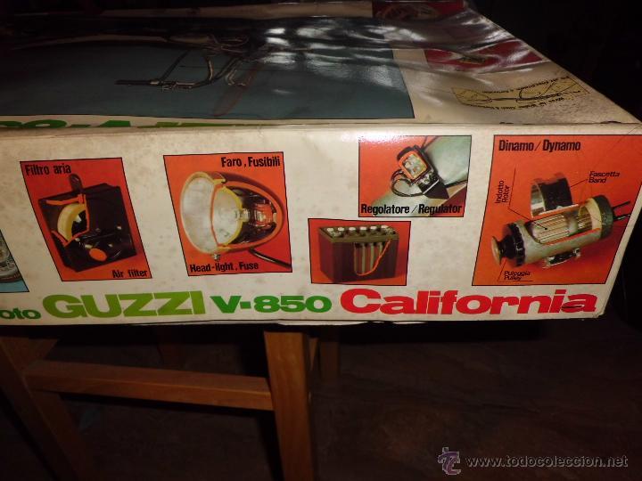 Maquetas: fantastica moto guzzi v-850 california protar provini año 1972 esc. 1/6 leer descrip. ver fotos - Foto 24 - 153475704