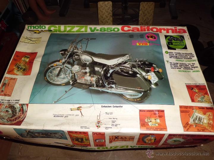 Maquetas: fantastica moto guzzi v-850 california protar provini año 1972 esc. 1/6 leer descrip. ver fotos - Foto 33 - 153475704