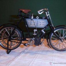 Maquetas: BICICLETA, BICI, MOTO, MOTOCICLETA RÉPLICA EN MINIATURA. AÑOS 70.. Lote 39795843