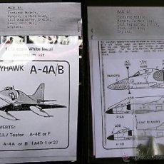 Maquetas: MAQUETA NOSEJOB 1/72 DOUGLAS A-4A/B SKYHAWK. Lote 28748638