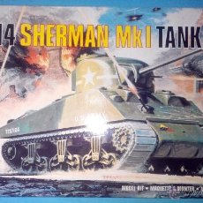 Maquetas: M4 SHERMAN MKL TANQUE ESCALA 1:72 MAQUETA PARA MONTAR AIRFIX. Lote 39880669
