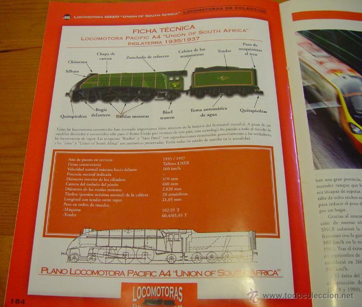 Maquetas: Colección. De 50 maquinas Locomotoras de tren. Historia del Ferrocarril. Trenes..sanna - Foto 2 - 39885757