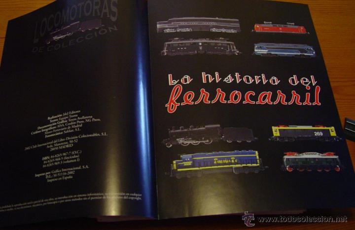 Maquetas: Colección. De 50 maquinas Locomotoras de tren. Historia del Ferrocarril. Trenes..sanna - Foto 8 - 39885757