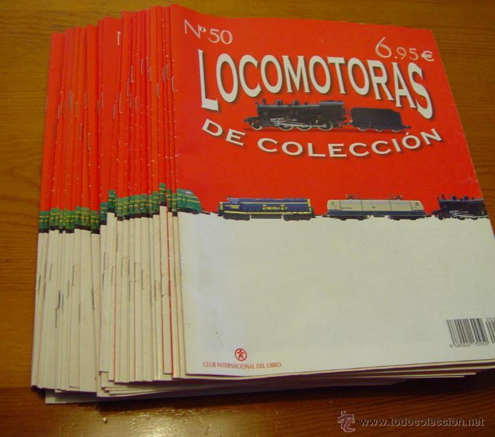 Maquetas: Colección. De 50 maquinas Locomotoras de tren. Historia del Ferrocarril. Trenes..sanna - Foto 9 - 39885757