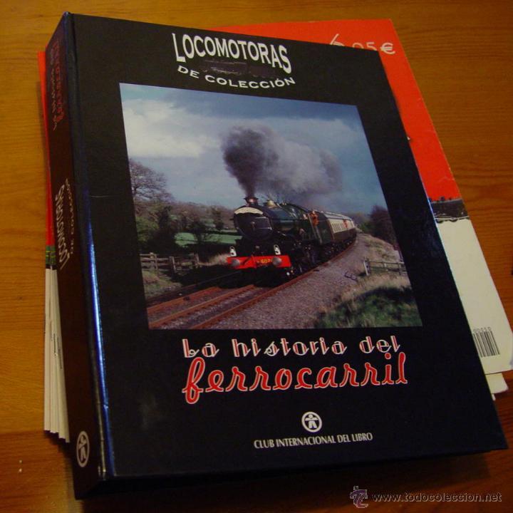 Maquetas: Colección. De 50 maquinas Locomotoras de tren. Historia del Ferrocarril. Trenes..sanna - Foto 10 - 39885757