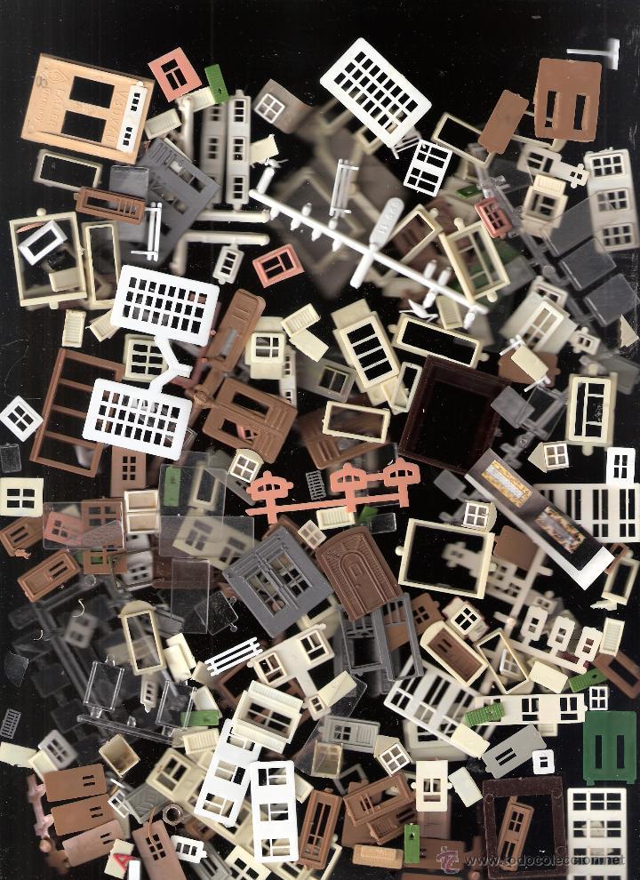Maquetas: Kibri Bausatz. 8404. Caja + piezas. Lo que se ve en las fotos.Marcado Puertas y Ventanas - Foto 2 - 40028034
