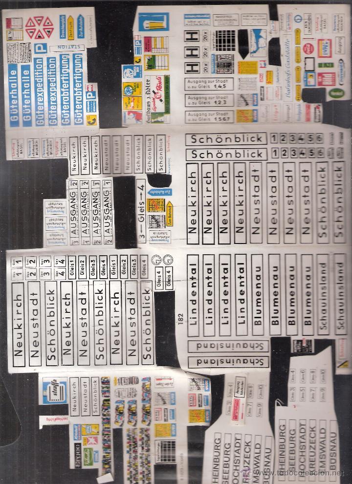 Maquetas: Faller. B-182/D. Caja + piezas. Accesorios de andén. Ver fotos. - Foto 4 - 40047274