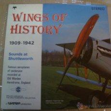 Maquetas: WINGS OF HISTORY 1909/1942- SONIDOS DE AVIONES ANTIGUOS - SHUTTLEWORTH - NUEVO A ESTRENAR. Lote 40088583