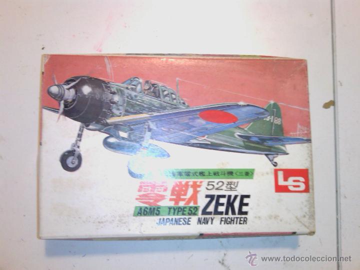 CAJA KIT AVION DE MONTAJE MADE IN JAPAN AÑOS 70 (Juguetes - Modelismo y Radio Control - Maquetas - Aviones y Helicópteros)