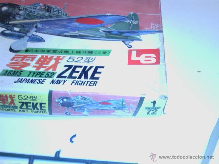 Maquetas: caja kit avion de montaje made in japan años 70 - Foto 3 - 202781133