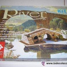 Maquetas: PUENTE 1 REF: 40251 MAQUETA CASAS DE CONSTRUCCION DOMUS KITS RIVER ESCALA 1/50 NUEVO. Lote 40545183
