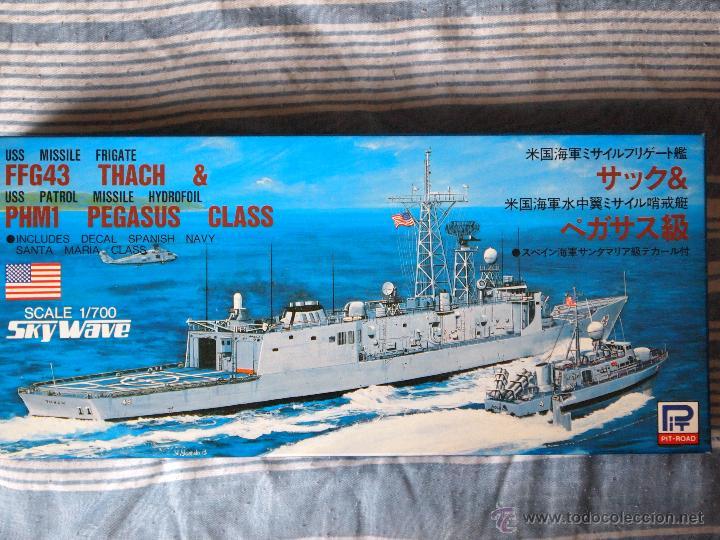 Uss ffg-43 thach y phm-1 pegasus (fragata lanza - Sold