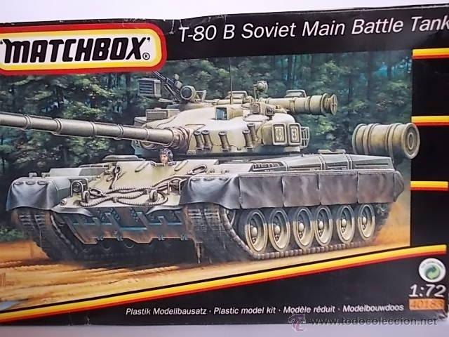 LOTE MAQUETA/ TANQUE / CARRO DE COMBATE T-80 B SOVIETICO - AIRFIX ESCALA 1/72 (Juguetes - Modelismo y Radiocontrol - Maquetas - Militar)