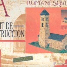 Maquetas: IGLESIA ROMANICA, KIT DE CONSTRUCCION. Lote 40975751