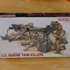 Maquetas: MAQUETA U.S MARINE TANK-KILLERS 1/35 DRAGON. Lote 41118635