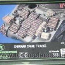 Maquetas: VERLINDEN - SHERMAN SPARE TRACKS 1/35. Lote 41272019