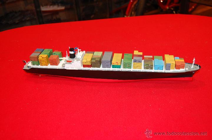 Barco de contenedores de pl stico escala 1 20 comprar maquetas de barcos en todocoleccion - Contenedores de barco ...