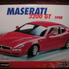 Maquetas: COCHE MASERATI 3200 GT 1998 ESCALA 1:18 BURAGO- METAL KIT . Lote 41320826