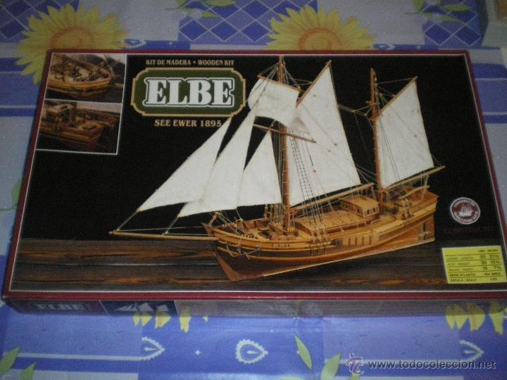 KIT DE MADERA ELBE SEE EWER 1895 (Juguetes - Modelismo y Radiocontrol - Maquetas - Barcos)
