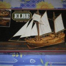 Maquetas - KIT DE MADERA ELBE SEE EWER 1895 - 41394433