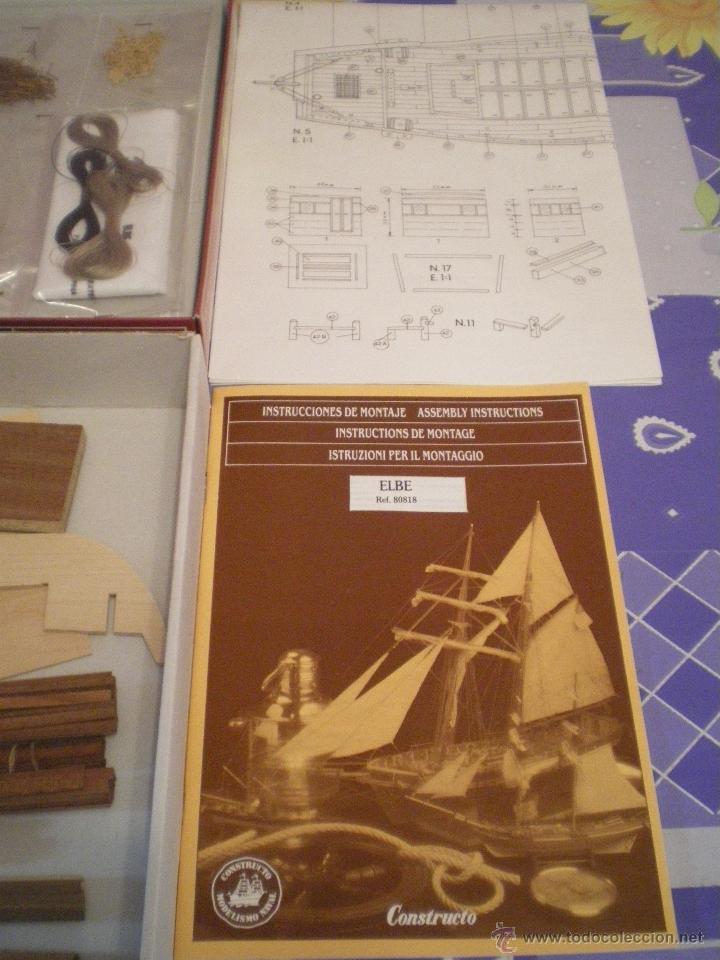 Maquetas: KIT DE MADERA ELBE SEE EWER 1895 - Foto 4 - 41394433