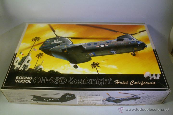 FUJIMI 7AH2-1200. ESCALA 1/72. HELICOPTERO BOEING VERTOL CH-46D SEAKNIGHT (Juguetes - Modelismo y Radio Control - Maquetas - Aviones y Helicópteros)