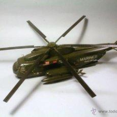 Macchiette: ITALERI. ESCALA 1/72. HELICOPTERO SIKORSKY HH53C JOLLY GREEN GIANT. MAQUETA MONTADA Y PINTADA.. Lote 242030245