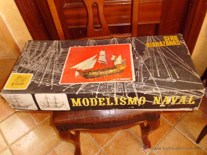 Maqueta De Barco Para Construir La Candelaria D Vendido En Subasta
